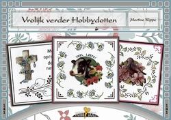 Hobbydols 141 Vrolijk verder Hobbydotten + 18 dots stickers