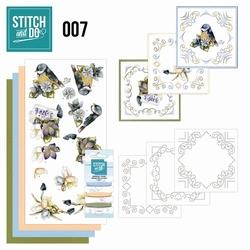 Stitch and Do borduursetje STDO007 Voorjaar