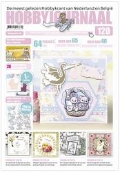 Hobbyjournaal 120 + knipvel Yvonne CD10460