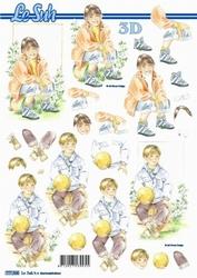 A4 Knipvel Le Suh 777568 Tiener jongen/meisje communie