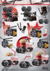 A4 Knipvel Studio Light SL 1215 Movies