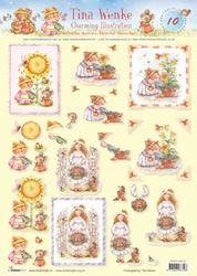 A4 Knipvel Studio Light Tina Wenke Charming illustraties 10