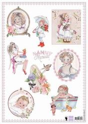 MD A4 Knipvel Els Wezenbeek EWK1231 Nanny memories 2