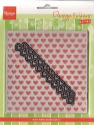MD Design folder DF3413 Extra Hearts