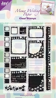 Joy Clear stamps 6410-0037 Memo
