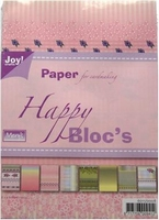 Joy! A5 Paperbloc 6011-0008 Happy rose