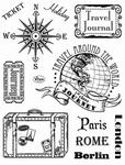 Clearstamp Viva My Paperwolrd 7026  Paris-Rome-Berlin