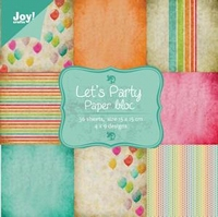 Joy! Papierblok 6011-0044 Let's party