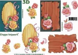 A4 Knipvel Le Suh 4169232 Schild met roos