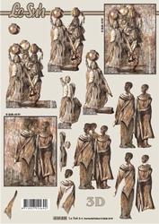A4 Knipvel Le Suh 4169825 Afrikaanse vrouwen met kruik