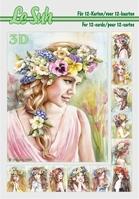 A5 Le Suh boek 345665 Bloemenmeisje
