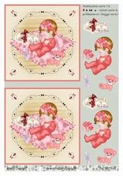 A4 DOTS Stappenvel Barto Design 67166 Baby meisje