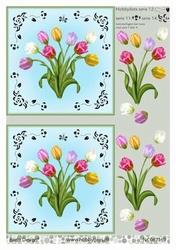 A4 DOTS Stappenvel Barto Design 67169 Tulpen