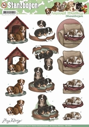 3D Stansvel Amy Design SB10025 Animal Medley Dogs