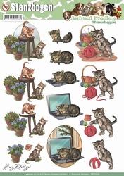 3D Stansvel Amy Design SB10026 Animal Medley Cats