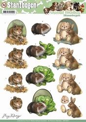 3D Stansvel Amy Design SB10027 Animal Medley Fluffy Animals