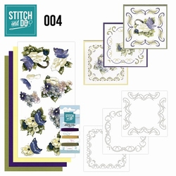 Stitch and Do borduursetje STDO004 Voorjaarsbloemen