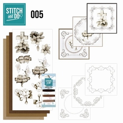 Stitch and Do borduursetje STDO005 Condoleance