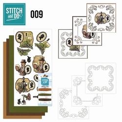 Stitch and Do borduursetje STDO009 Wijn en Bier