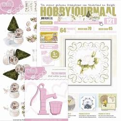Hobbyjournaal 121 + knipvel Marieke CD10467 & PM10029 pomp