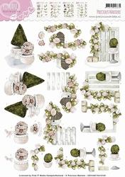 3D Knipvel Precious Marieke CD10467/HJ12101 Romance