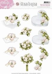 3D Stansvel Precious Marieke SB10034 Romance Collection