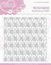 Precious Marieke's embossing folder 10003 Romance Collection