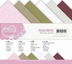 Precious Marieke's linnen assortiment A5-004 Romance Collect