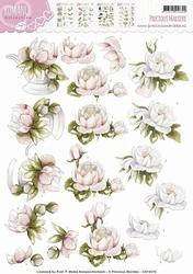3D Knipvel Precious Marieke CD10470 Romance Peony