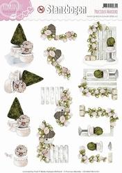 3D Stansvel Precious Marieke SB10037 Romance Collection
