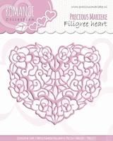 Precious Marieke's Die Romance PM10027 Filigree heart
