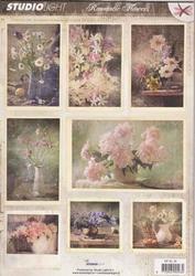 A4 Stansvel Studio light  RPSL45 Romantic Pictures Bloemen