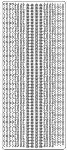 Sticker Peel-off 1990 Diverse fijne randen