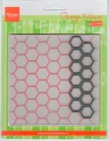MD Design folder DF3404 Chickenwire + 1 Die extra