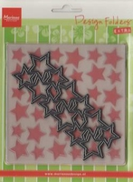 MD Design folder DF3408 extra stars