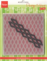 MD Design folder DF3410 Diamonds + 1 Die extra