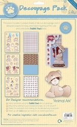 Padded Paws PDP 1691100 Decoupage Pack Teddy Bear