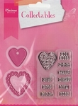 MD Collectables COL1307 set Candy hearts GB