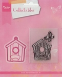 MD Collectables COL1309 Birdhouse home/vogelhuisje