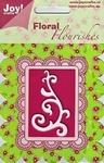 Joy stencil Floral Flourishes 6003-0002 Kleine swirl 2