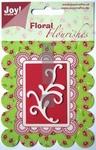Joy stencil Floral Flourishes 6003-0003 klein Swirl 2