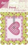 Joy stencil Floral Flourishes 6003-0005 Hart/heart