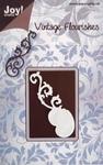 Joy stencil Vintage Flourishes 6003-0014 Swirl