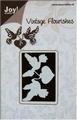 Joy stencil Vintage Flourishes 6003-0016 Hart + duiven