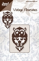 Joy stencil Vintage Flourishes 6003-0018 Uil