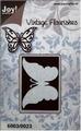 Joy stencil Vintage Flourishes 6003-0023 Vlinder