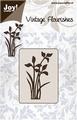 Joy stencil Vintage Flourishes 6003-0029 Bloem/Bladeren