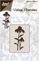 Joy stencil Vintage Flourishes 6003-0030 Bloem/Bladeren