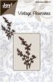 Joy stencil Vintage Flourishes 6003-0032 Bloem/Bladeren