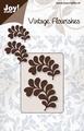 Joy stencil Vintage Flourishes 6003-0036 Bladeren